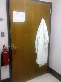 lonely lab coat 1